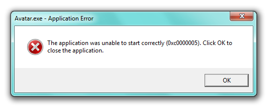 ช่วยด้วยครับเจอปัญหาอย่างใหญ่หลวง Error code (0xc0000005) - Pantip