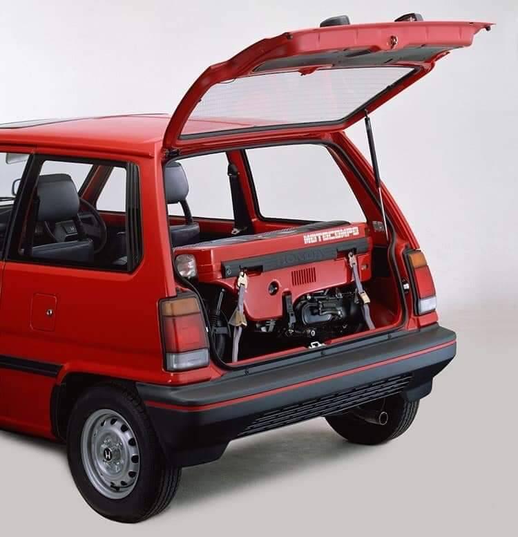 1983 Honda City Turbo II with Motocompo - Pantip