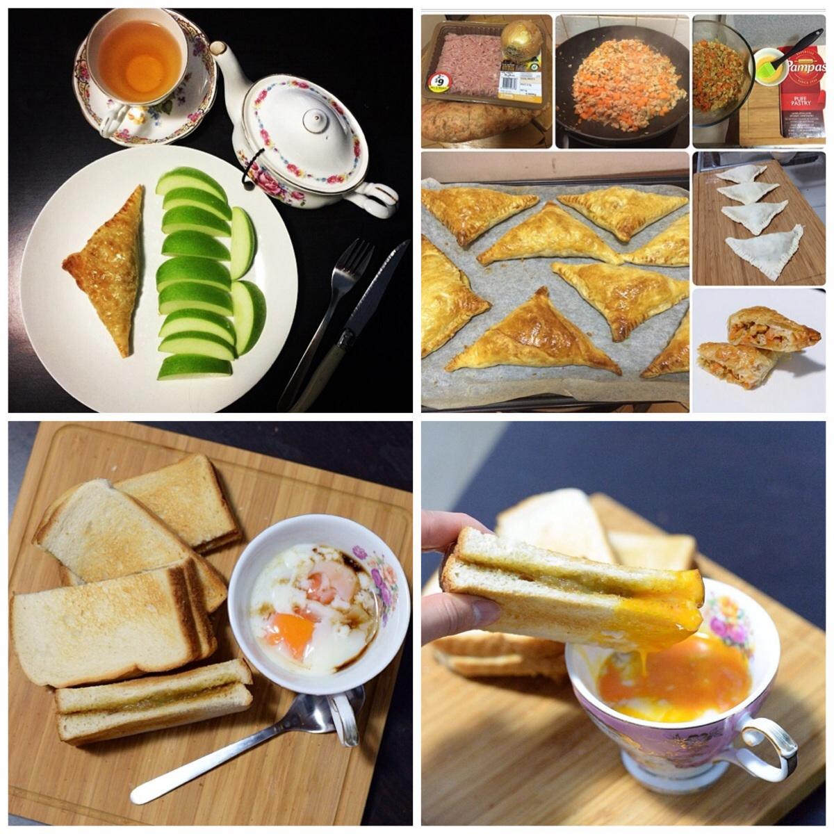 อาหารเช้าง่ายๆ เมนูขนมปัง