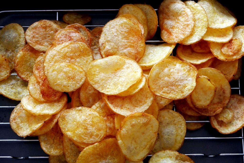 มันฝรั่งทอดกรอบ Potato Chips - Pantip