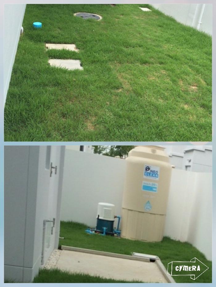 บริเวณที่เป็นท่อน้ำข้างบ้านสามารถต่อเติทห้องได้ไหมครับ - Pantip