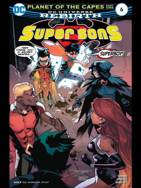 TITANS #1 DC UNIVERSE REBIRTH SEPTEMBER 2016