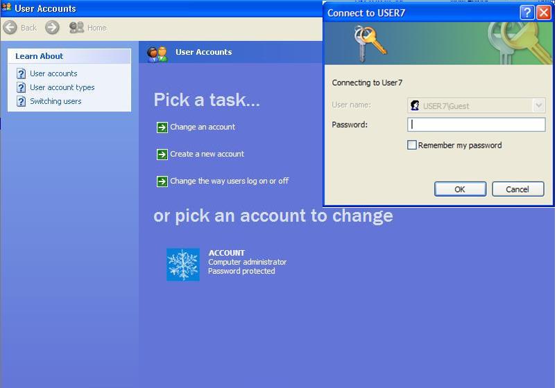 วิธีปิด guest account บน network - Pantip