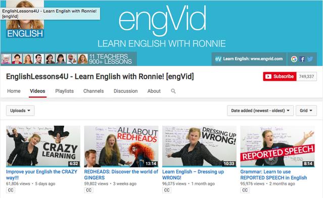 อยากเก่งภาษาอังกฤษ เรียนผ่าน Youtube 13 ช่อง คลิกเลย!!!