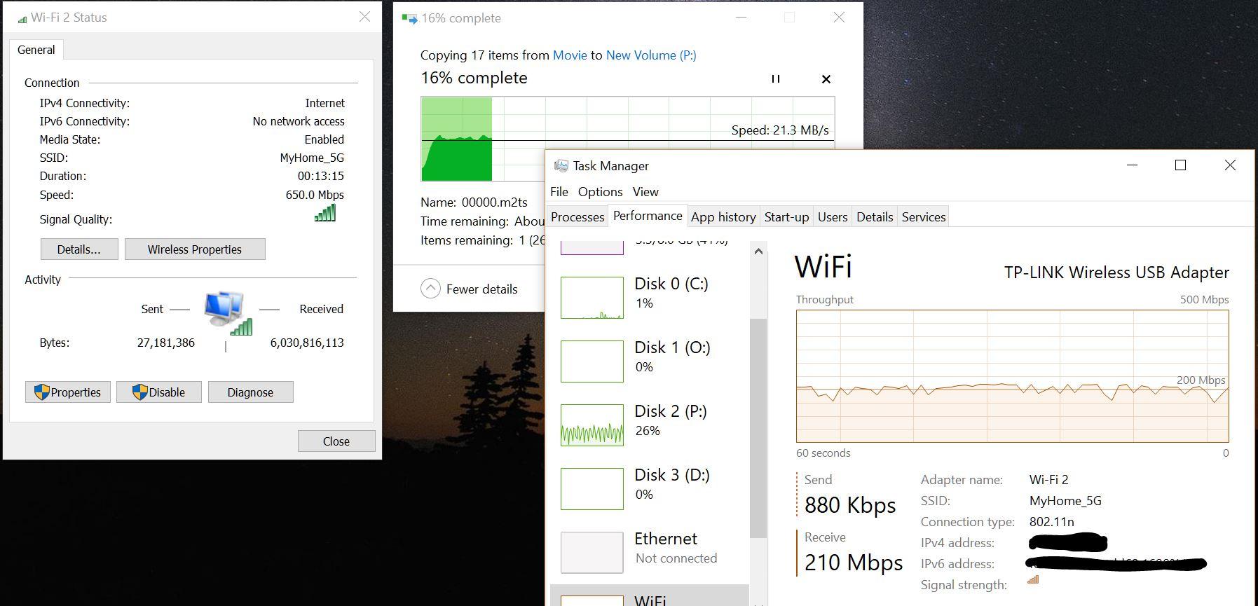 สอบถามเรื่องการตั้งค่า Wifi 5G ครับ RT-AC68U , TP link