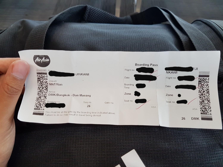 Boarding Pass Airasia ไม สามารถข นเคร องได Pantip
