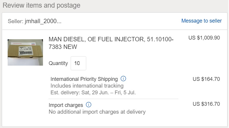 Extra Fee Or Extra Shipping Fee