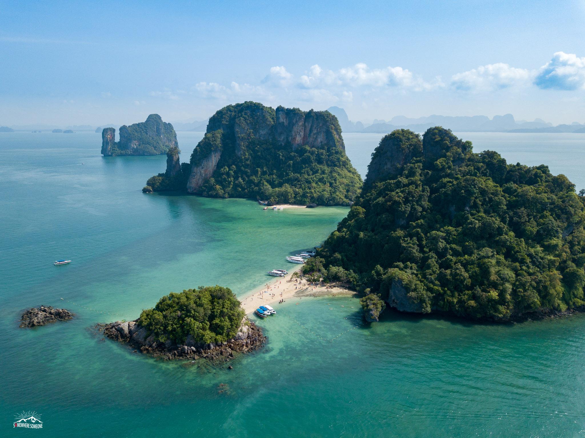 เที่ยวอันดามัน หมู่เกาะห้อง กระบี่ ทะเลอันดามัน