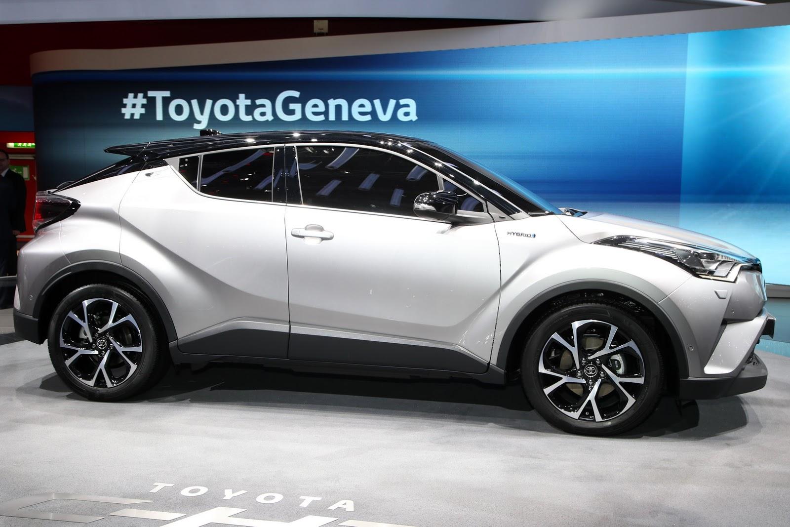 // เปิดตัวแล้ว Toyota C-HR ที่ Geneva Motorshow - Pantip