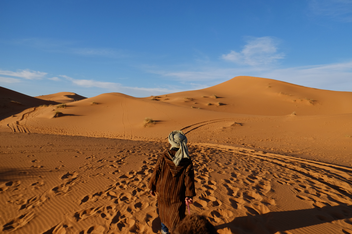 Erg Chebbi, Sahara Desert, Morocco…The great piece of Art ...