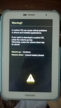 galaxy s3 firmware update encountered an issue