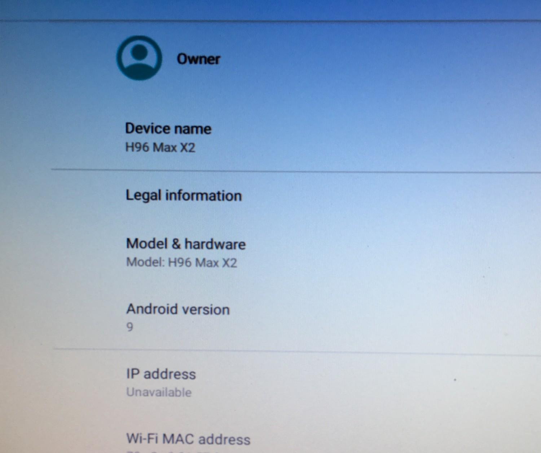 วิธีอัพเดท android 9 บนกล่อง Android box H96 Max x2 - Pantip