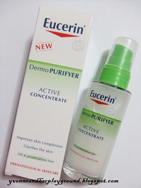 eucerin dermo purifyer active concentrate serum. Black Bedroom Furniture Sets. Home Design Ideas