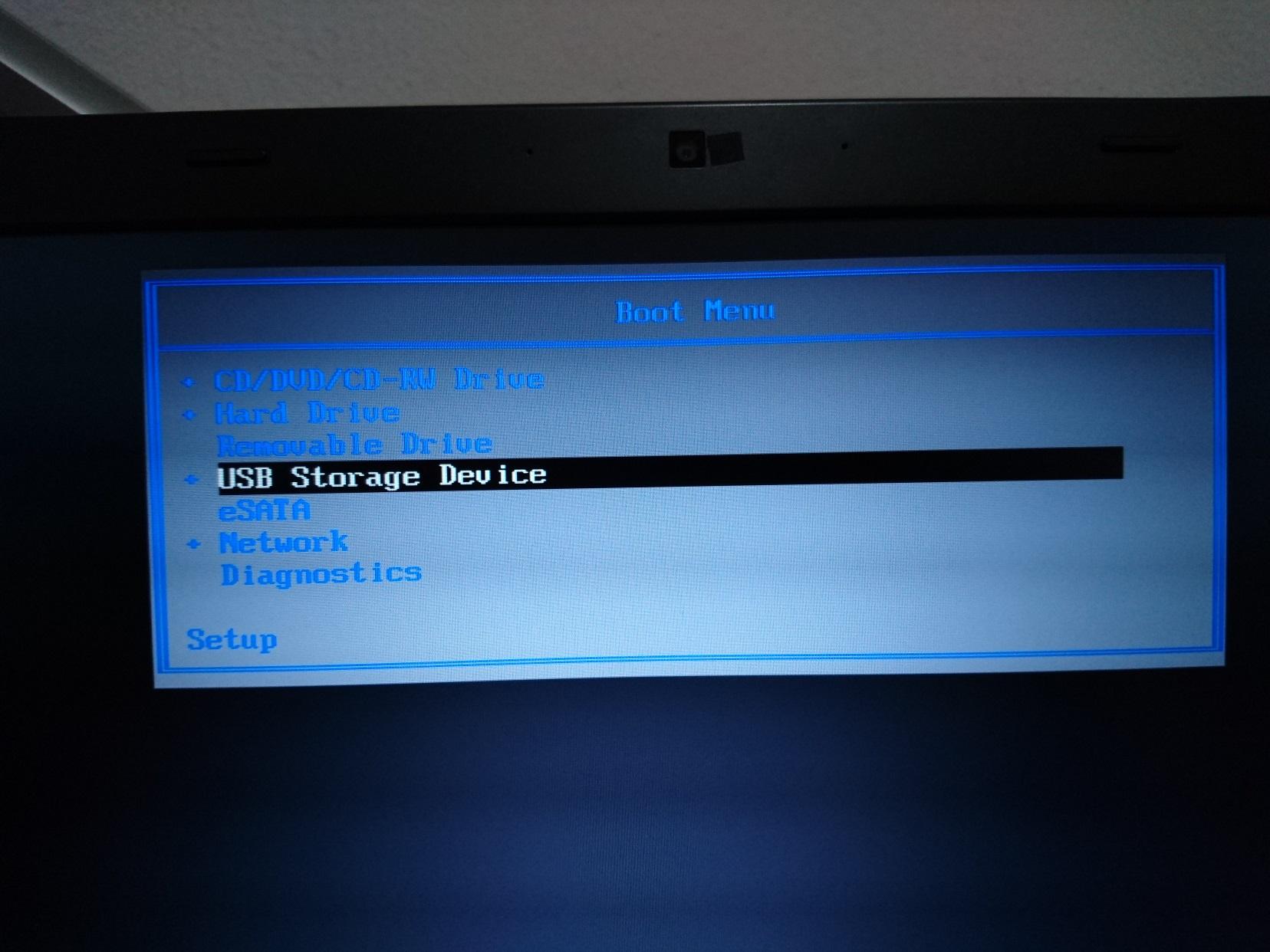 งง กับ Bios ของ Dell ครับ จะให้มัน Boot เข้า USB ได้ยังไง