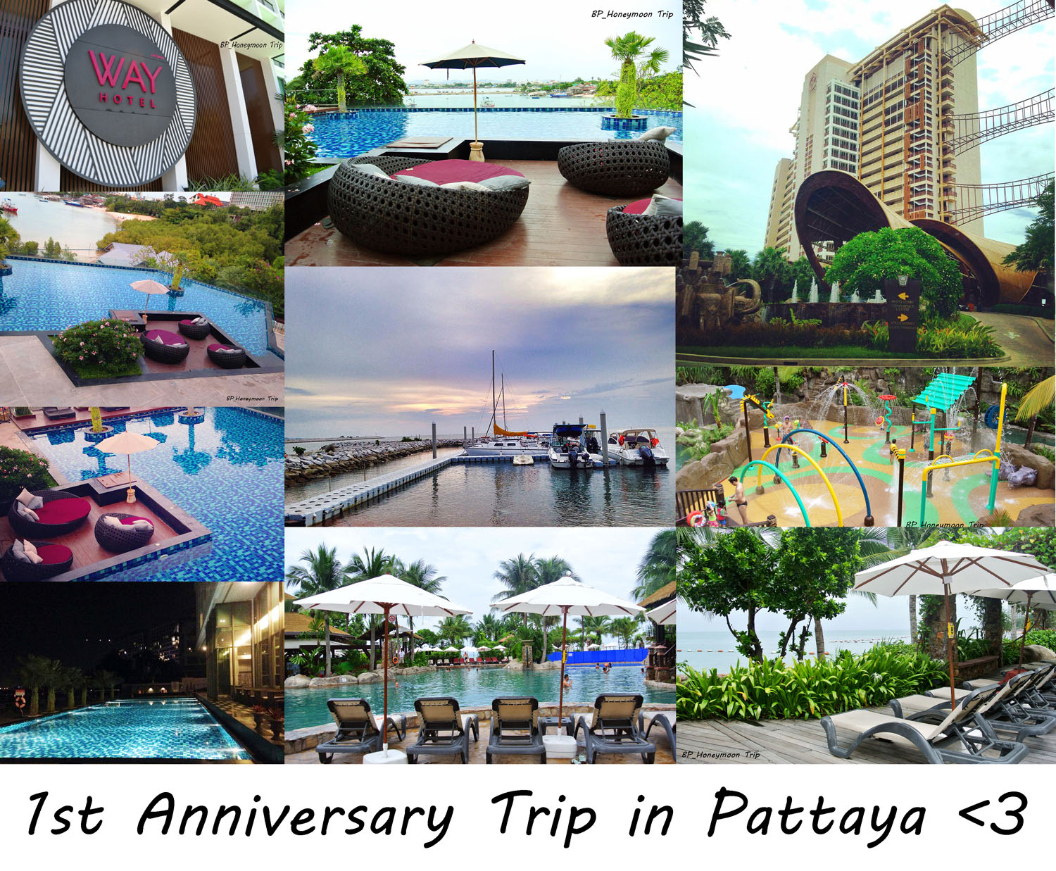 Cru003e 1st anniversary trip @ way hotel & centara grand mirage beach