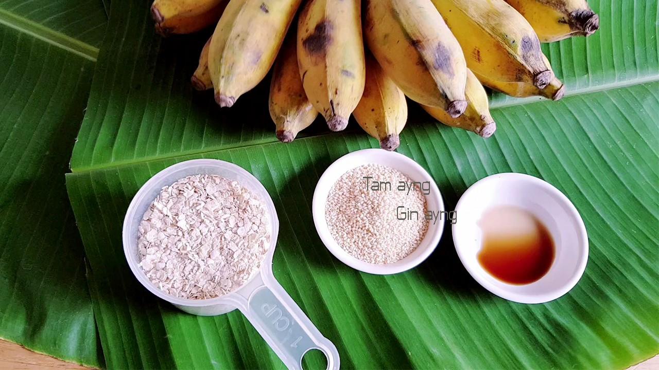 ขนมกล้วย ขนมทำเอง เบเกอรี่แคลอรี่ต่ำ ขนมลดน้ำหนัก