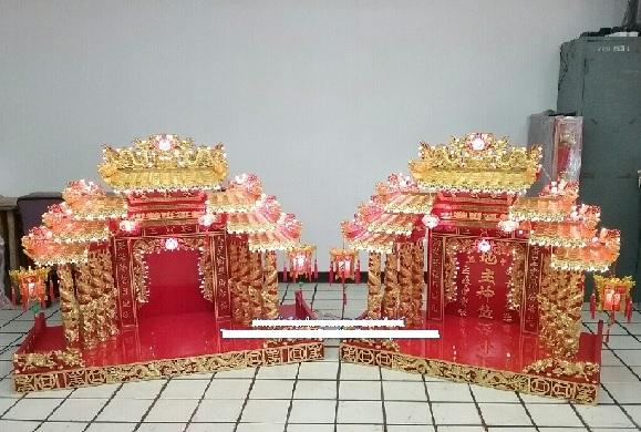 ผลการค้นหารูปภาพสำหรับ บ้านเล็กสีแดงที่ไหว้ในบ้านจีน