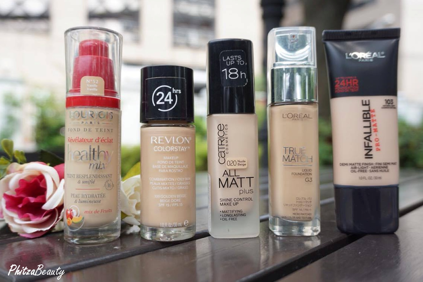 Review 5 Phitza Beauty Lamp039oreal Infallible Total Cover Foundation