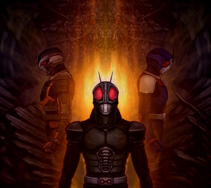 ถ้า Kamen Rider Black RX มาอยู่ใน Kamen Rider spirits คิดว่า