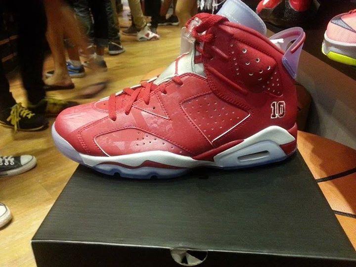 Nike Air Jordan 6 Smasher Pour Une Voiture Doccasion.
