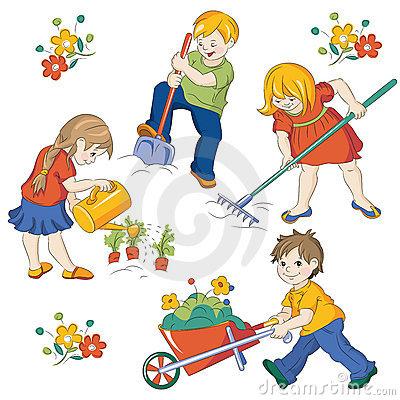 Картинки рисованные дети