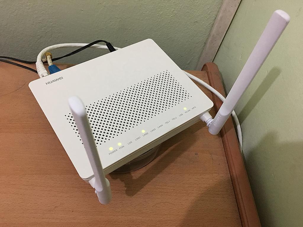 เน็ต 3BB ทำไม router Huawei HG8245 รับ Speed ได้ไม่เต็ม