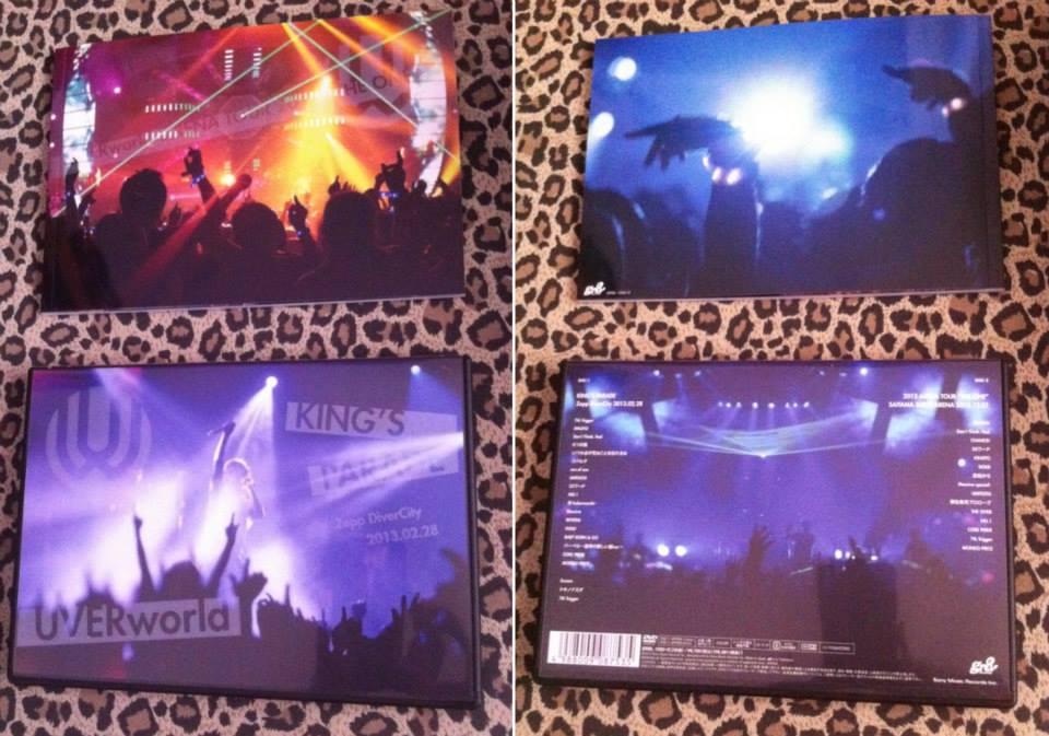J-ROCK] Review 25thSingle Nano Second วง UVERworld+DVD หนังสารคดี