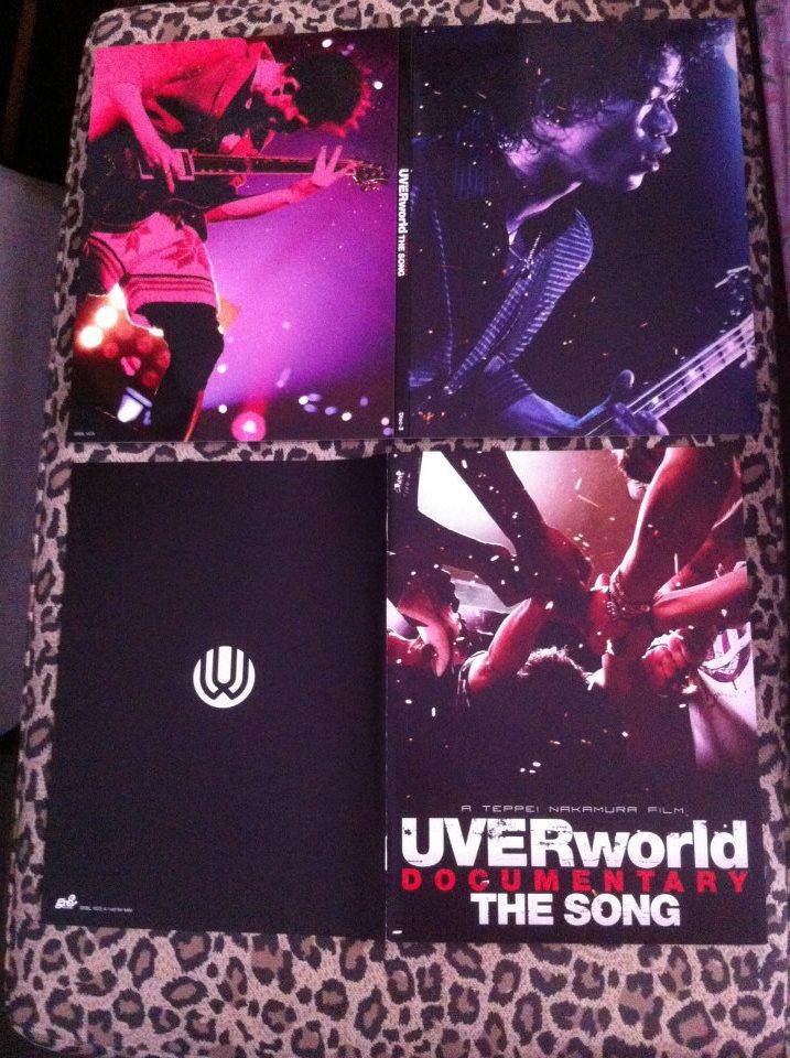 J-ROCK] Review 25thSingle Nano Second วง UVERworld+DVD หนัง