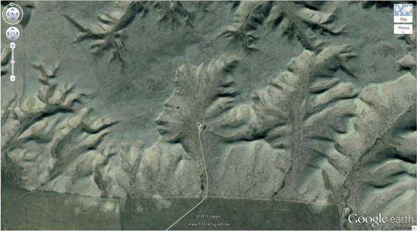 เครือข่าย คนกินเจ และมังสวิรัติ-29 ภาพประหลาดจาก Google Earth-6