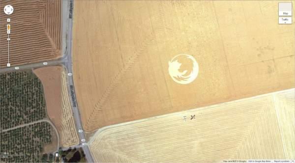 เครือข่าย คนกินเจ และมังสวิรัติ-29 ภาพประหลาดจาก Google Earth-8