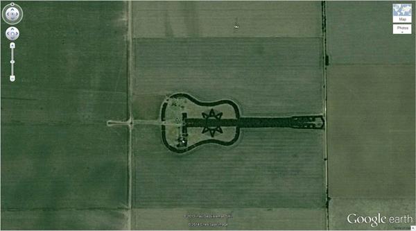 เครือข่าย คนกินเจ และมังสวิรัติ-29 ภาพประหลาดจาก Google Earth-9