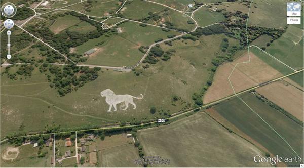 เครือข่าย คนกินเจ และมังสวิรัติ-29 ภาพประหลาดจาก Google Earth-14