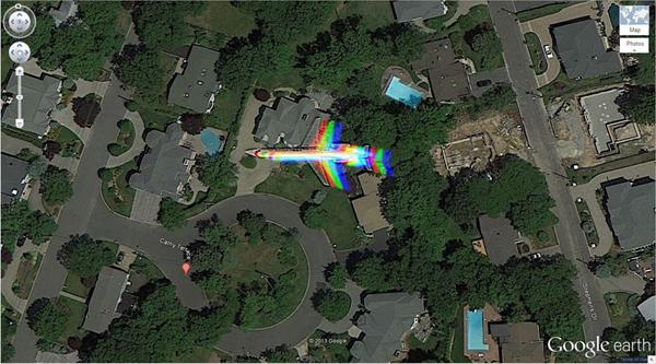 เครือข่าย คนกินเจ และมังสวิรัติ-29 ภาพประหลาดจาก Google Earth-25