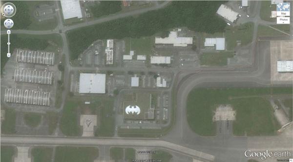 เครือข่าย คนกินเจ และมังสวิรัติ-29 ภาพประหลาดจาก Google Earth-29