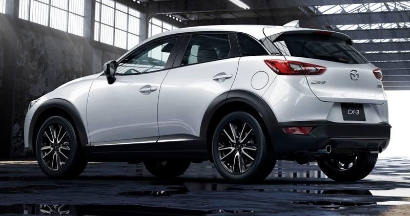 HRV กันเถอะ ด้วยโฉมหน้า Mazda CX3 ...