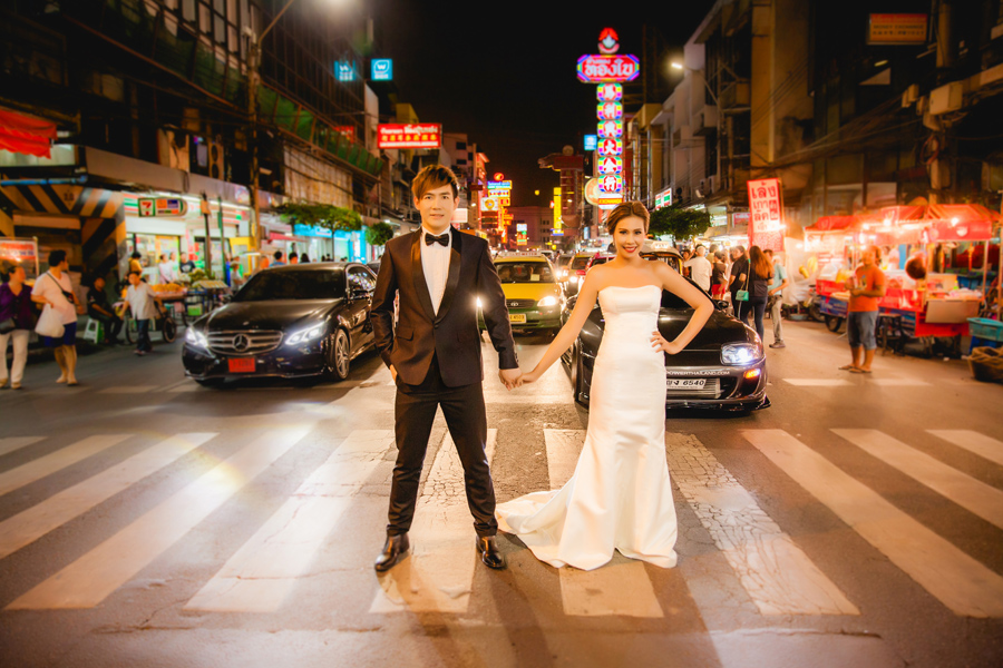 Pre Wedding Styles: รูป Pre Wedding แนวเจ้าพ่อเซียงไฮ้ พร้อมเบื้องหลังแบบ