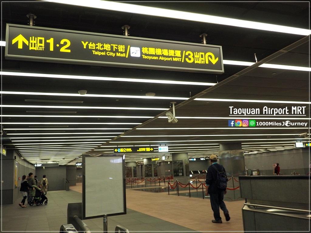 วิธีเดินทางระหว่าง Taoyuan Airport – Taipei ด้วยรถไฟฟ้า