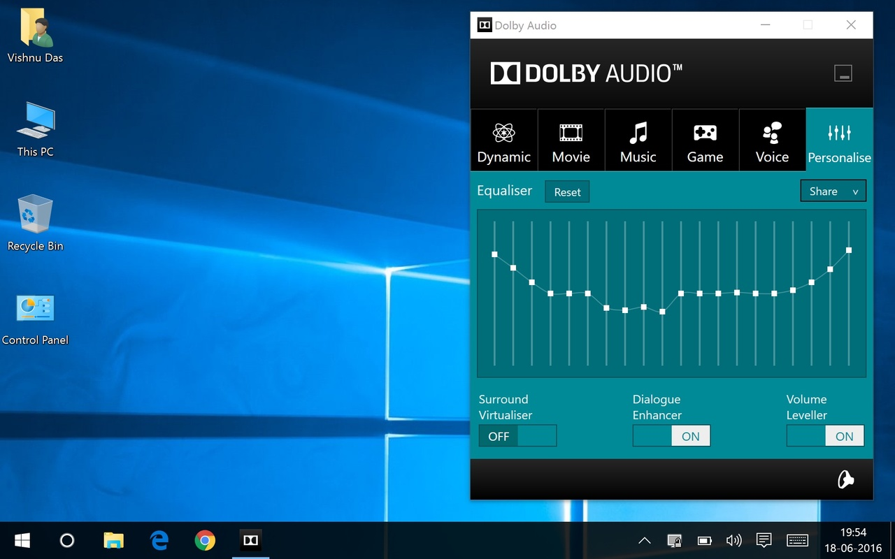 Dolby Advanced Audio v2 Slow Startup in Windows 8.1.1