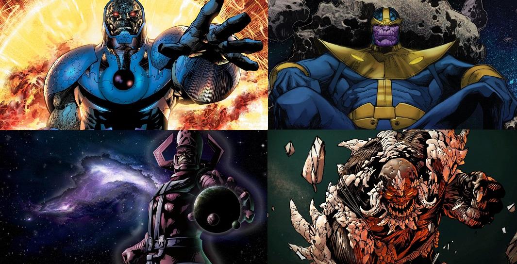 อยากถามแฟนๆ Marvel Dc ว า Thanos ไม ม ถ งม อ Vs Galactus Vs