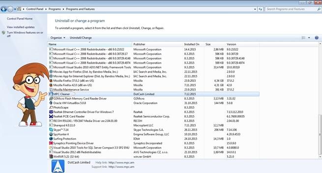 ใครรู้วิธีลบโปรแกรมที่มีไอคอนบนdesktopแต่ไม่มีในcontrol panel ...