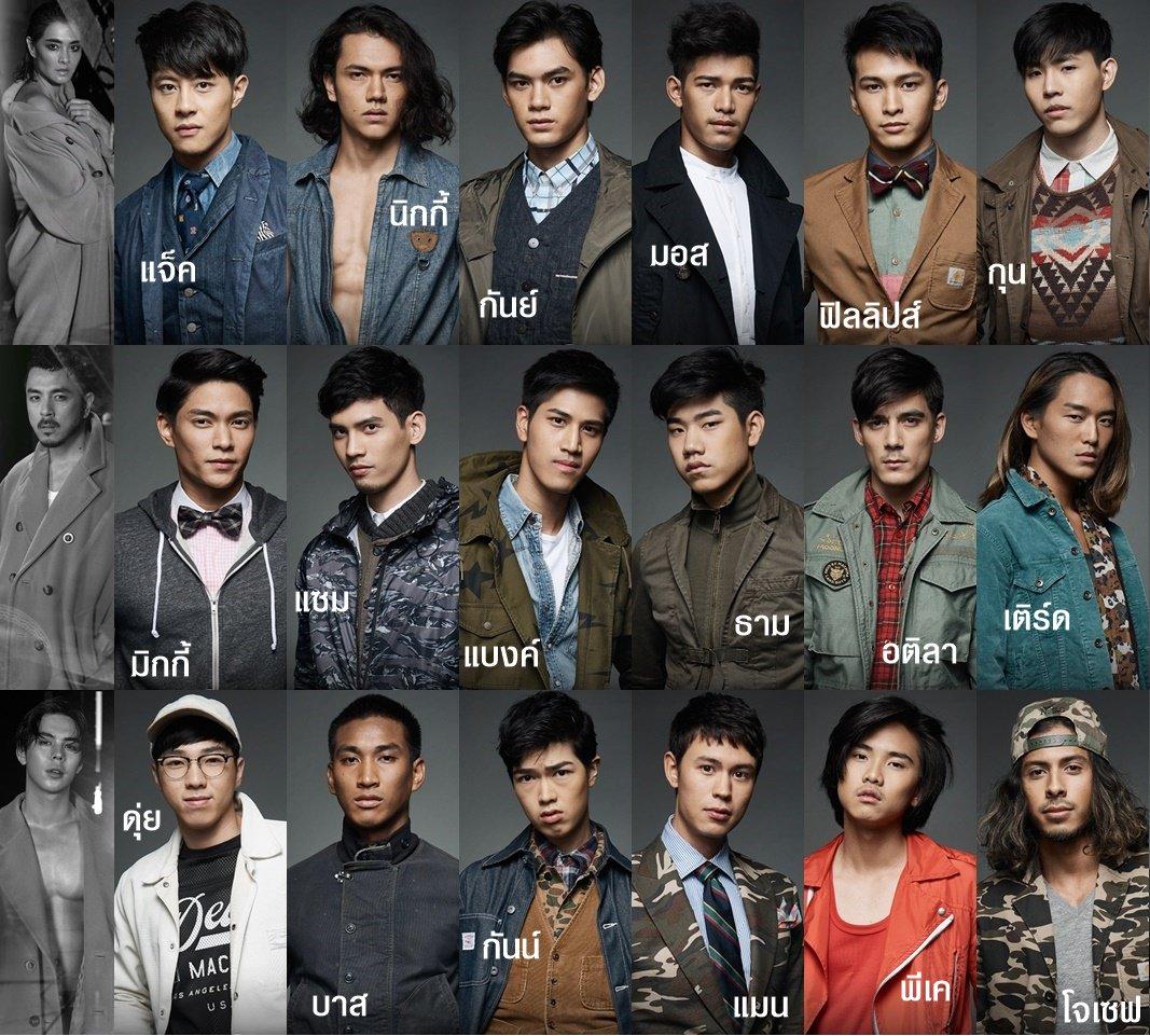 The face men thailand คิดว่าใครจะได้เดินfinal walk ของแต่ละทีม - Pantip