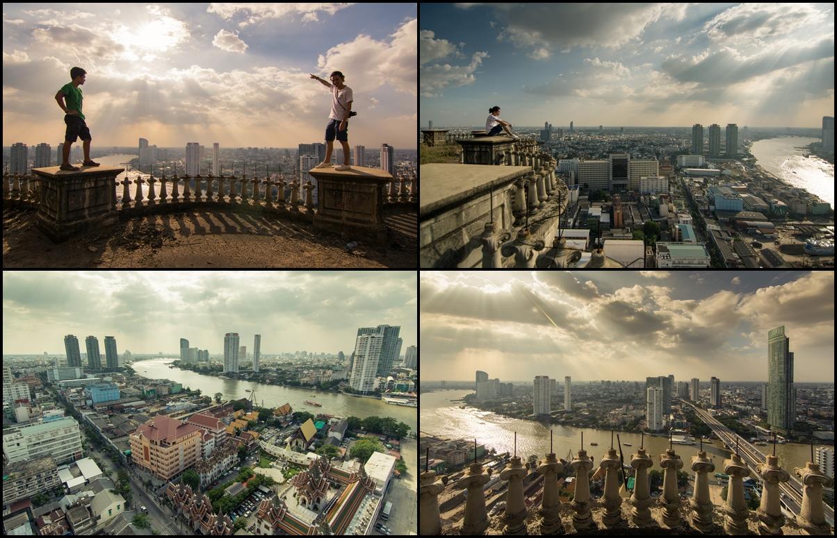 Заброшенный недострой в Бангкоке Sathorn Unique