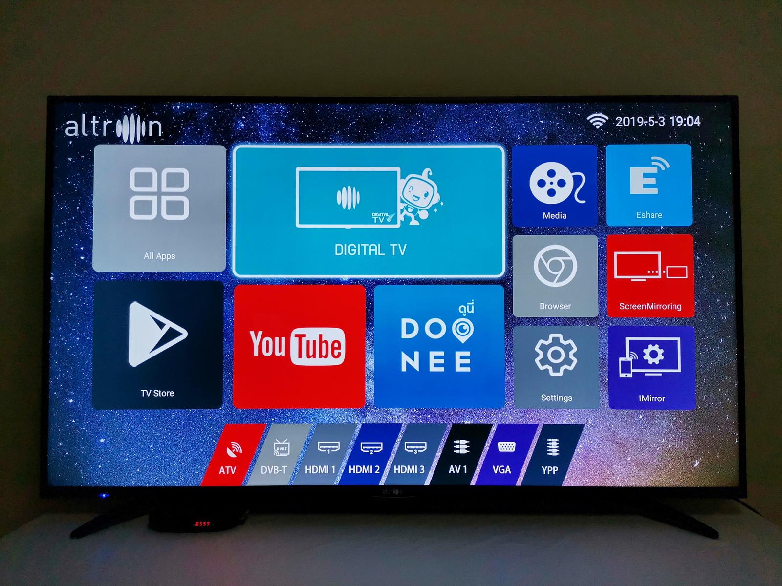"""รีวิว altron SMART TV 4K ULTRA HD ขนาด 65"""" สมาร์ททีวีแบรนด์ไทย เพื่อ"""