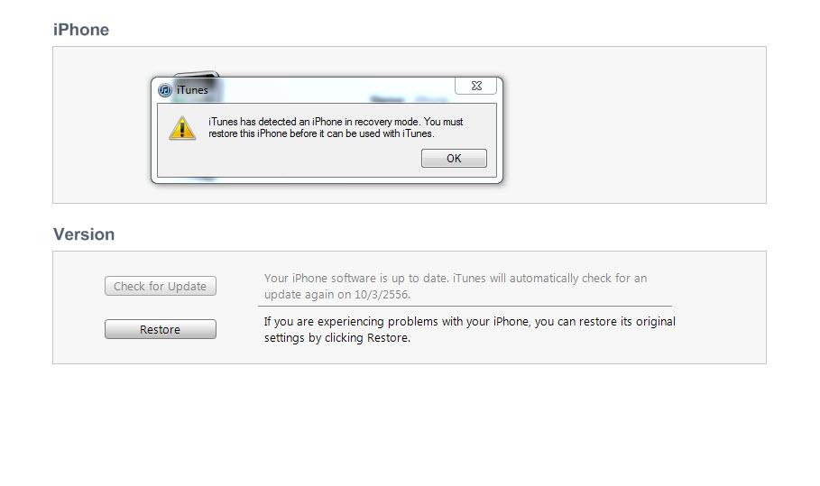 ต้องการจะ Restore iPhone 3GS ติด Error 3194 - Pantip
