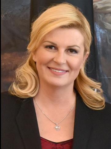 ประธานาธิบดีโครเอเชียน โคลินดา กราบบ้า คิทาโรวิท Kolinda