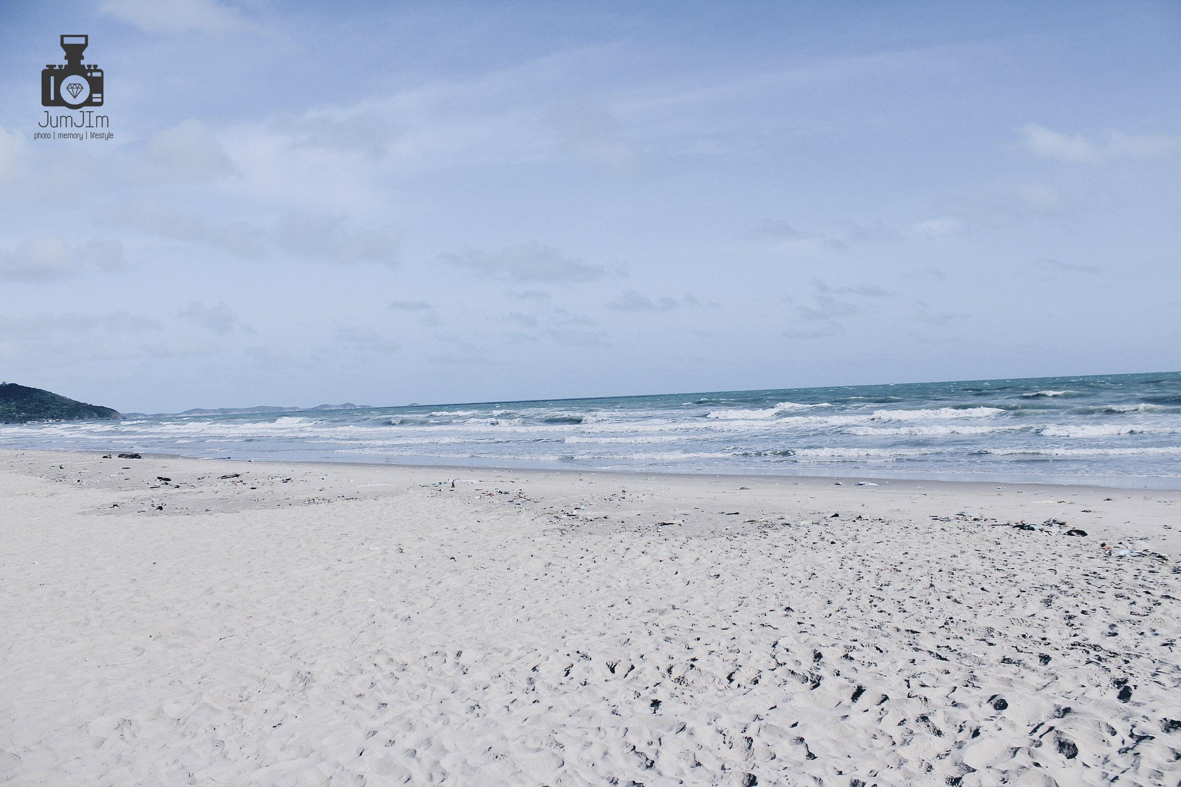หาดแม่รำพึง ทะเลใกล้กรุงเทพ