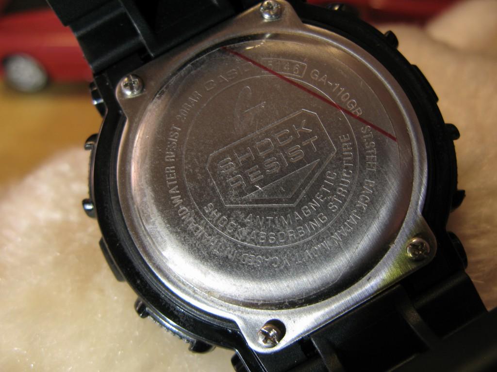 G Shock Ga 110 Gb 1adr 100 Pantip Casio Gac