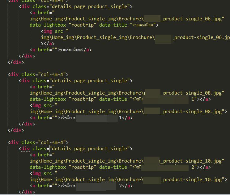 ขอคำแนะนำค่ะ ติดปัญหาการทำ Lightbox Gallery (HTML,CSS
