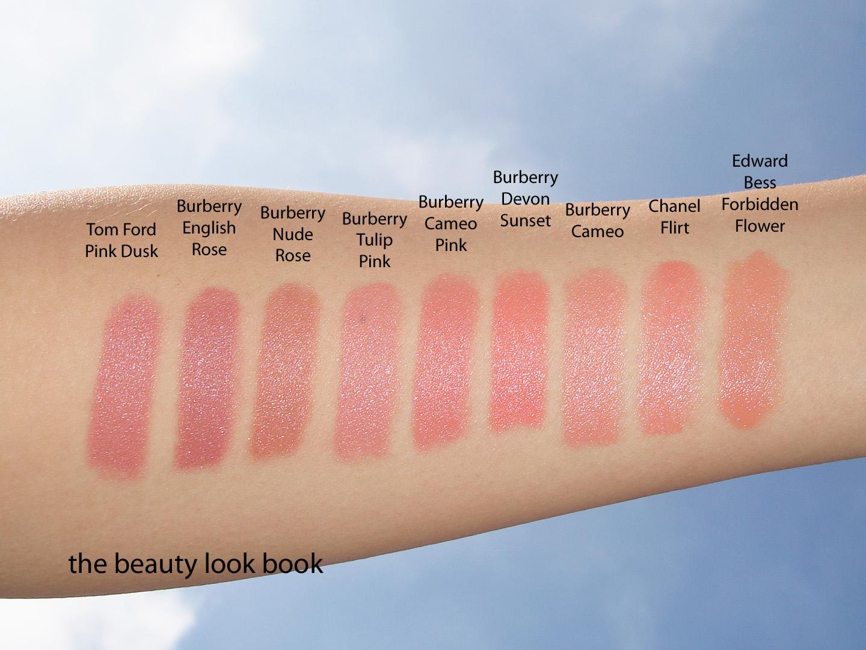 Burberry Lip Cover Lipstick No 23 English Rose สีคล้าย