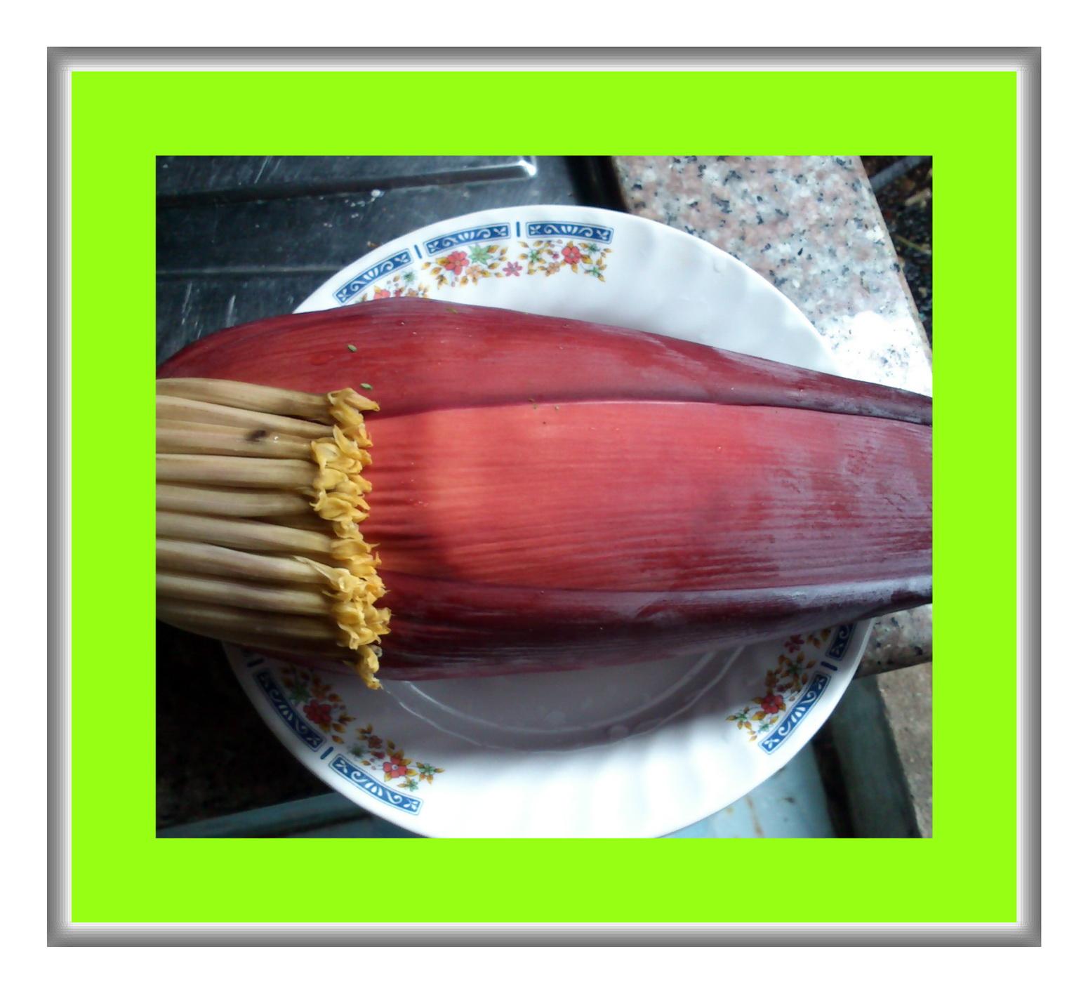 แกงหัวปลีใส่ซี่โครงหมู (แกงเหนือ)อาหารเหนือ